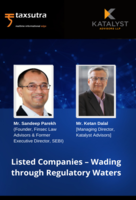 Listed Companies – Wading Through Regulatory Waters!