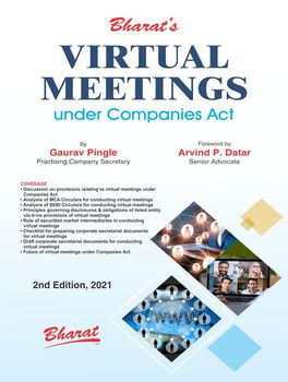 Virtual Meetings Under Companies Act (2nd Edition)
