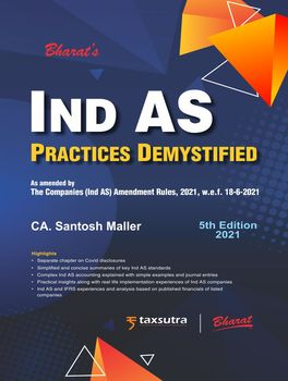 Ind AS Practices Demystified (5th Edition) - Order your Paperback Edition and get complimentary Access to E-book!