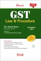 GST Law & Procedure (Set of 3 Volumes) - 5th Edition : Order your Paperback Edition and get complimentary access to E-book!