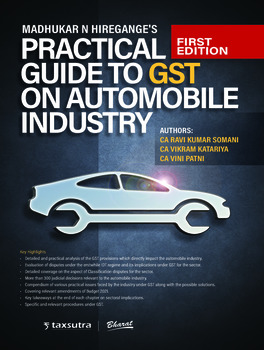 Practical Guide to GST on Automobile Industry, 1st Edition (Paperback)