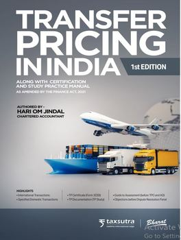 Transfer Pricing in India (1st Edition)