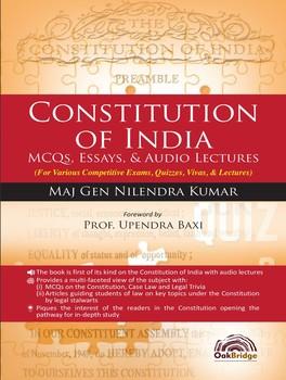 Constitution of India: MCQs, Essays, & Audio Lectures