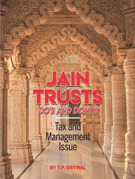 Jain Trusts - Do's and Dont's - Tax and Management Issue