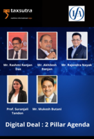 """Taxsutra & IFA India Present Panel Discussion on """"Digital Deal : 2 Pillar Agenda"""" With Renowned Policy Experts!"""