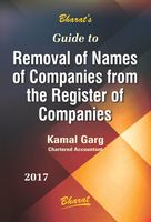 Removal of Names of Companies from the Register of Cos.