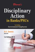 Disciplinary Action in Banks/PSUs