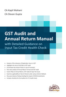 GST Audit & Annual Return Manual