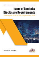 Issue of Capital & Disclosure Requirements