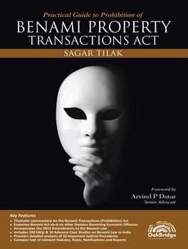 Practical Guide to Prohibition of Benami Property Transactions Act