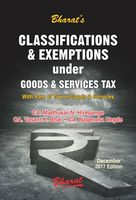 Classifications & Exemptions under GST with Rates of Tax on Goods and Services