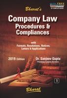 Company Law Procedures & Compliances (in 2 vols.) Volume- 1-2