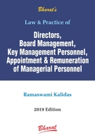 Law & Practice on Directors, Board Management, Key Management Personnel, Appointment & Remuneration of Managerial Personnel