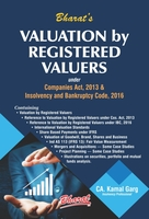 Valuation by Registered Valuers under Companies Act, 2013 & Insolvency and Bankruptcy Code, 2016