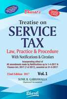 Treatise on Service Tax Law, Practice & Procedure (in 2 Vols.)
