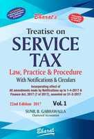 Treatise on Service Tax Law, Practice & Procedure (in 2 Vols.)