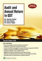 Audit and Annual Return in GST