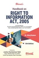Handbook on Right to Information
