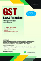 GST Law And Procedure - (Set of 3 Volumes)