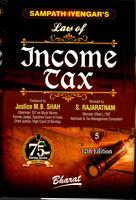 Sampath Iyengar's Law of Income Tax (In 11 vols.) - Volume 5