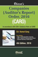 Companies (Auditor's Report) Order, 2016 (CARO)