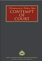 Restatement of Indian Law: Contempt of Court