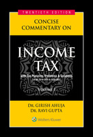 Concise Commentary on Income Tax (set of 2 Volumes)