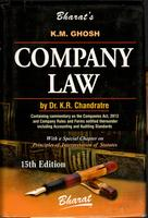 Company Law by Dr. K.R. Chandratre (As amended by Companies (Amendment) Act, 2015) - Volume 1