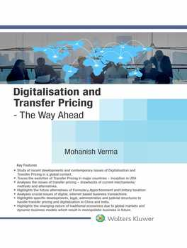 Digitalisation and Transfer Pricing- The Way Ahead
