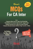 Multiple Choice Questions (MCQs) for CA Inter (New Syllabus)