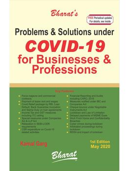 Problems & Solutions under COVID-19 for Businesses & Professions