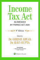 Income Tax Act - As Amended by Finance Act, 2020
