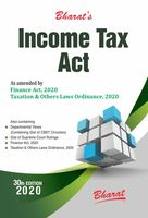 Bharat's Income Tax Act - As Amended by Finance Act, 2020 and Taxation and Other Laws Ordinance, 2020