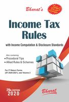 Bharat's Income Tax Rules - 29th Edition
