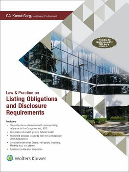 Law & Practice on Listing Obligations and Disclosure Requirements