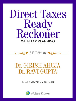 Direct Taxes Ready Reckoner - 21st Edition