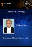 Intricacies of Benami Law in India