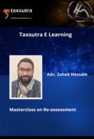 Re-assessment Master-Class