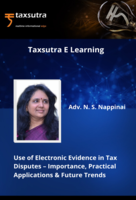 Use of Electronic Evidence in Tax Disputes – Importance, Practical Applications & Future Trends