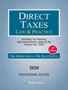 Direct Taxes Law & Practice, 12E