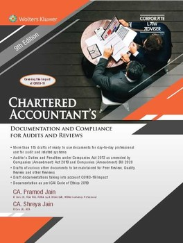 Chartered Accountant's Documentation and Compliance for Audits and Reviews (9th Edition)
