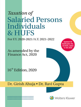 Taxation of Salaried Persons, Individuals & HUFs (16th Edition)