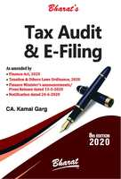 Tax Audit & E-filing (8th Edition)