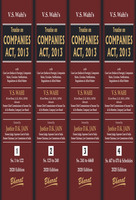 Treatise on Companies Act, 2013 (Set of 4 Volumes)