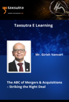 "M&A Wizard Girish Vanvari's 8- Weeks Master-Class Series on ""The ABC of M&As – Striking the Right Deal"""