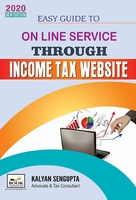 Easy Guide to Online Service through Income tax Website