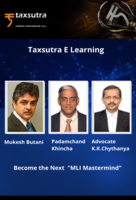 "Become the Next ""MLI Mastermind"" with International Tax Experts Mukesh Butani, Padamchand Khincha & K.K Chythanya!"