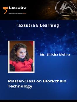 """Master Class on """"Blockchain Technology"""""""
