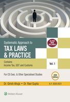 Systematic Approach to Tax Laws & Practice + Handbook on MCQS and Solved Question Papers of past Examinations