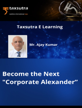 """Become the Next """"Corporate Alexander"""""""